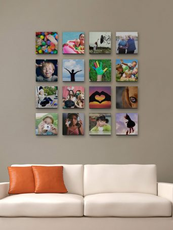 living-room-photo-grid-display